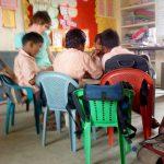 sofia häggmyr i indien på little lambs school