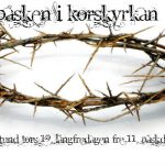 påsken i Korskyrkan 2013 png